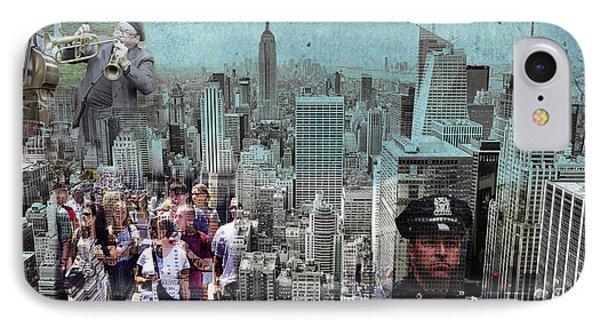 Manhattan IPhone Case by Judi Saunders