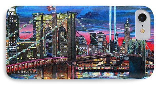 Manhattan Kinda Night IPhone Case by Patti Schermerhorn