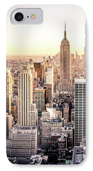Manhattan IPhone 7 Case by Michael Weber