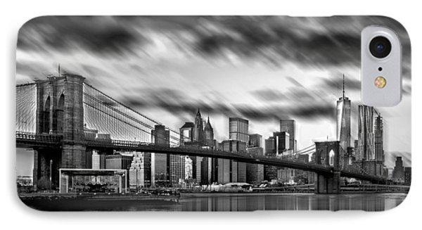 Manhattan Moods IPhone 7 Case by Az Jackson