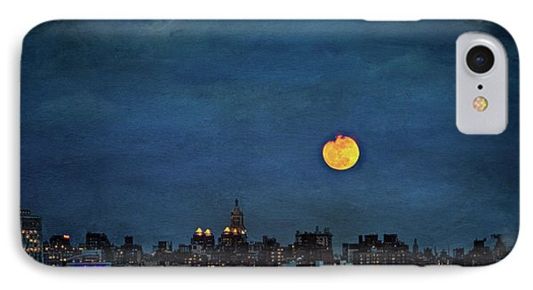 Manhattan Moonrise IPhone Case by Chris Lord