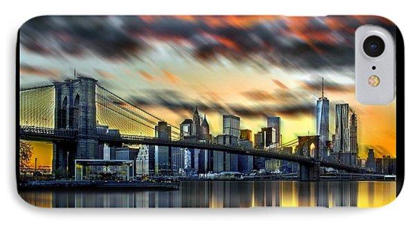 Manhattan Passion IPhone Case by Az Jackson