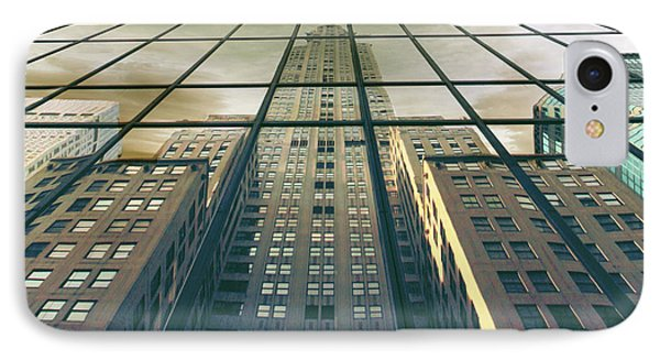 IPhone Case featuring the photograph Manhattan Reflected by Jessica Jenney