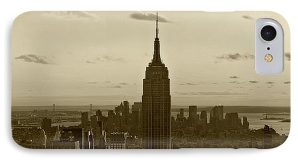 Manhattan Sky View IPhone Case by Terry Cork