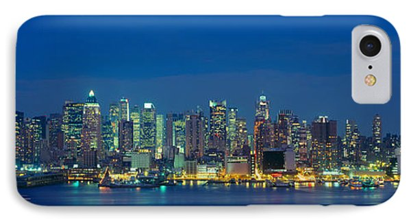 Manhattan Skyline From Weehawken, Nj IPhone Case by Panoramic Images