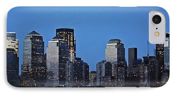 IPhone Case featuring the photograph Manhattan Skyline by John Haldane