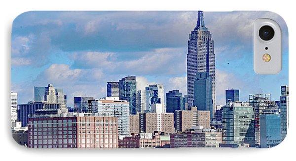 Manhattan Skyline No. 7-1 IPhone Case