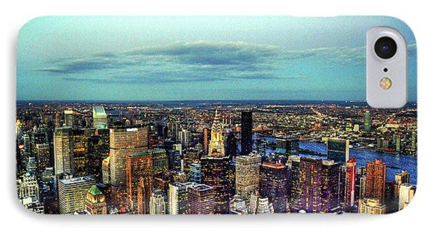 Manhattan's Upper East Side Phone Case by Randy Aveille