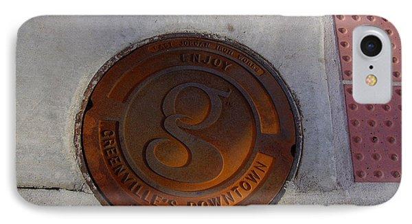 Manhole I IPhone Case by Flavia Westerwelle