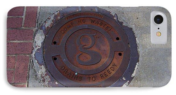 Manhole II IPhone Case by Flavia Westerwelle
