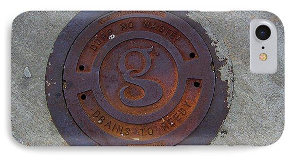 Manhole IIi IPhone Case by Flavia Westerwelle