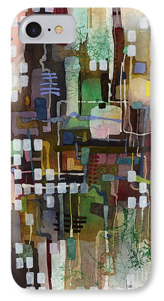 IPhone Case featuring the painting Manifold by Hailey E Herrera