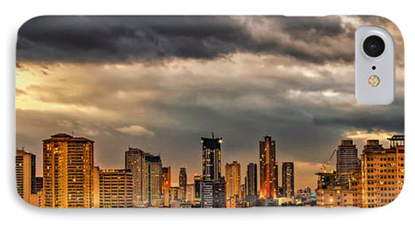 Manila Cityscape IPhone Case
