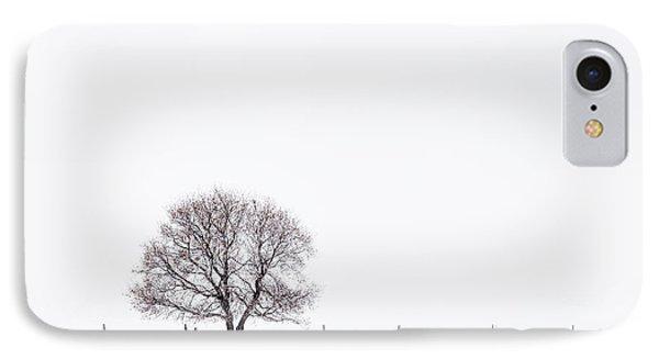 Manitoba Winter IPhone Case by Yvette Van Teeffelen
