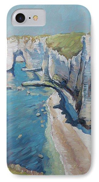 Manneport, The Cliffs At Etretat IPhone Case