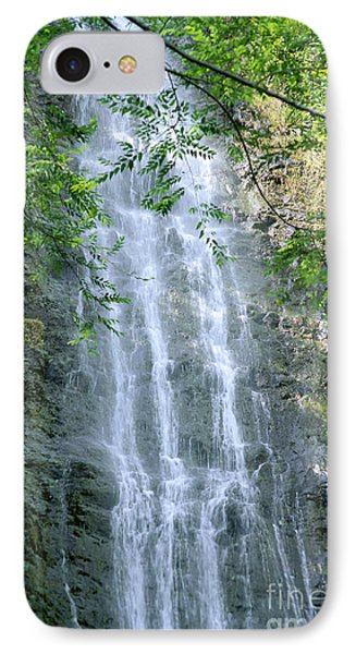Manoa Valley Waterfall IPhone Case by Bill Brennan - Printscapes
