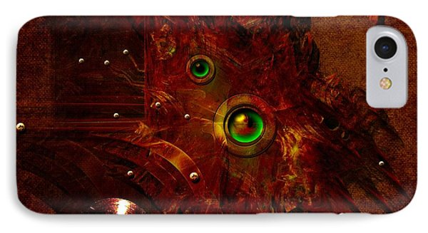 IPhone Case featuring the digital art Manometer by Alexa Szlavics