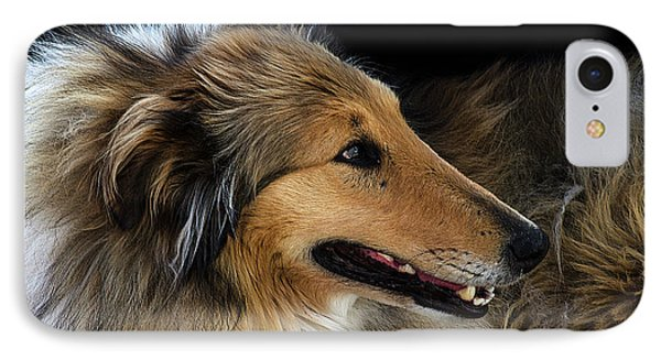 IPhone Case featuring the photograph Man's Best Friend by Bob Christopher