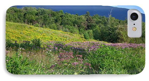 IPhone Case featuring the photograph Mansfield Meadow by Susan Cole Kelly