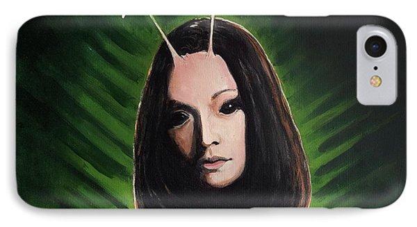 Mantis IPhone Case by Tom Carlton