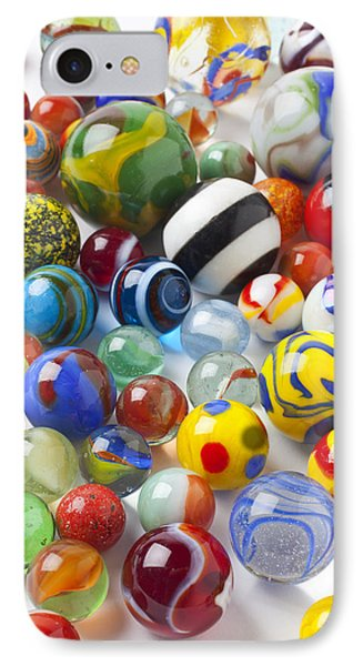 Many Beautiful Marbles Phone Case by Garry Gay