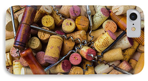 Many Corkscrews IPhone Case by Garry Gay