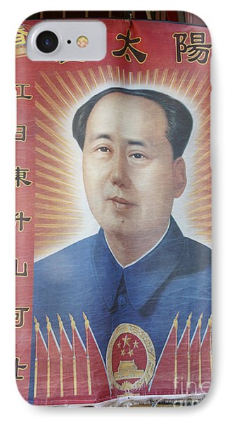 Mao Zedong Hanging Vancouver Chinatown IPhone Case by John  Mitchell
