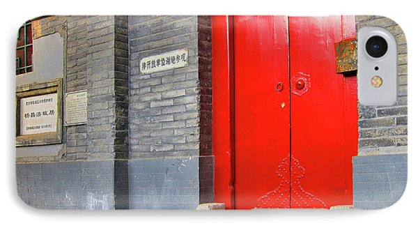 Mao's Hutong Home In Beijing.  IPhone Case by Andy Za
