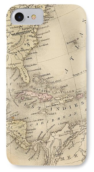 Map IPhone Case by Sample