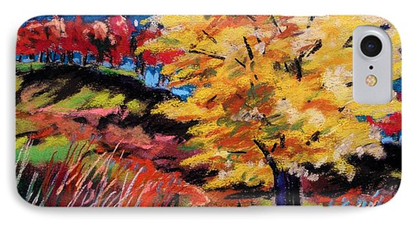 Maple At Night Phone Case by John Williams