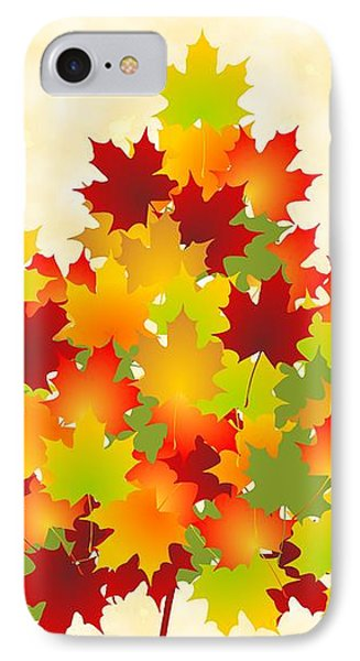Maple Leaves IPhone Case by Anastasiya Malakhova
