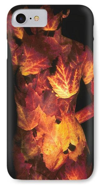 Maple Leaves Phone Case by Arla Patch