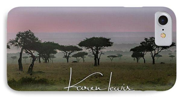 IPhone Case featuring the photograph Mara Dawn by Karen Lewis