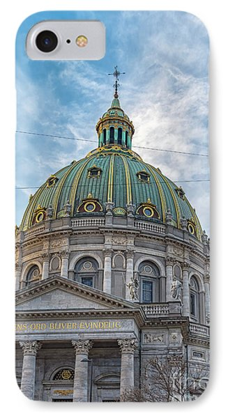 IPhone Case featuring the photograph Marble Church In Copenhagen by Antony McAulay