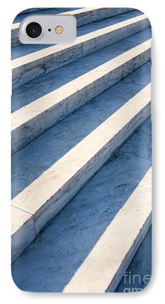 Marble Steps, Jefferson Memorial, Washington Dc, Usa, North America Phone Case by Paul Edmondson