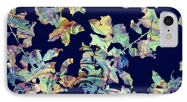 Marbled Branches IPhone Case by Varpu Kronholm