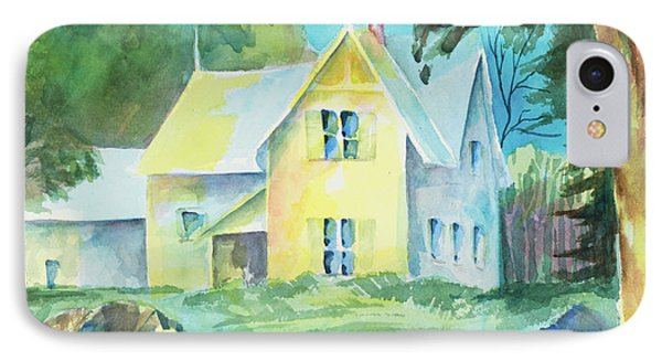Marblehead Cottage IPhone Case