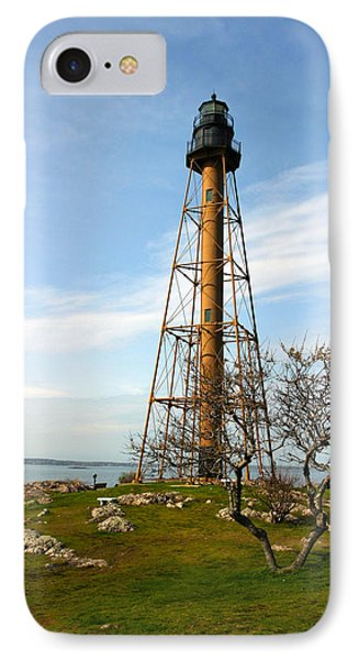 Marblehead Light IPhone Case by Michelle Wiarda