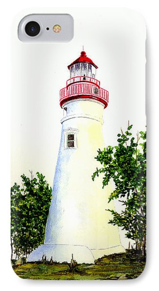 Marblehead Lighthouse Phone Case by Michael Vigliotti
