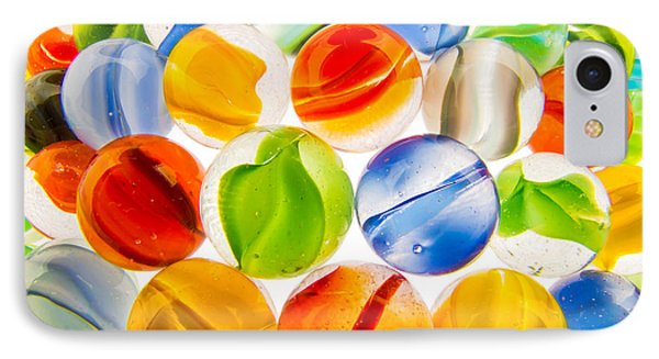 Marbles 3 IPhone Case by Jim Hughes