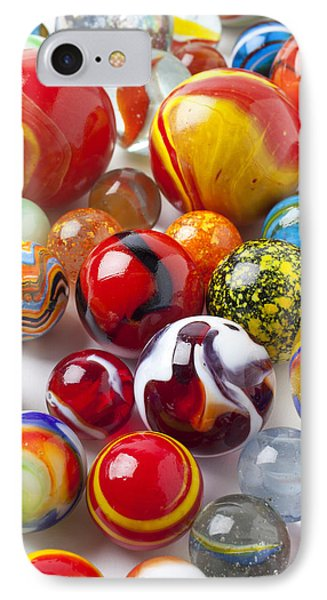 Marbles Close Up Phone Case by Garry Gay