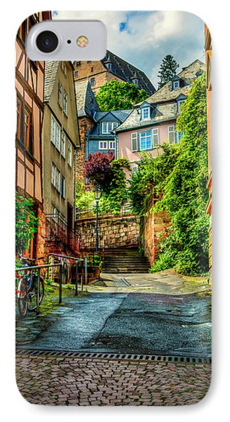 IPhone Case featuring the photograph Marburg Alley by David Morefield