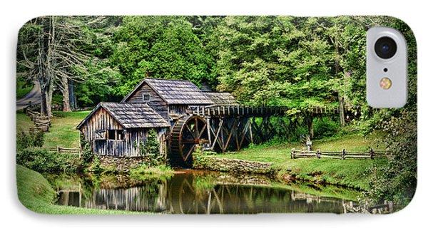 Marby Mill Landscape IPhone Case by Paul Ward