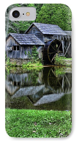 Marby Mill Reflection IPhone Case by Paul Ward