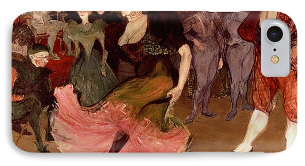 Marcelle Lender Dancing The Bolero In Chilperic IPhone Case by Henri de Toulouse Lautrec
