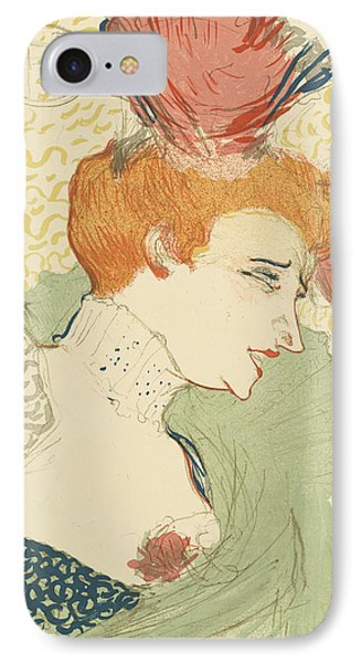 Marcelle Lender  IPhone Case by Henri De Toulouse-Lautrec