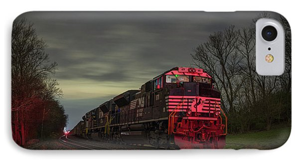 March 25 2017 Ns 871 At Lyle Siding Princeton In IPhone Case by Jim Pearson