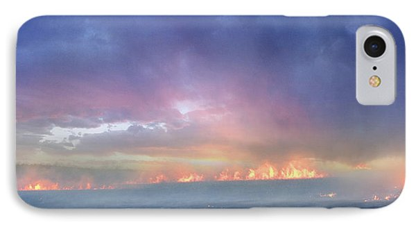 March Burning Of The Prairie IPhone Case