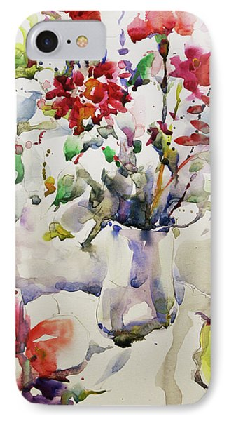 March Greeting IPhone Case by Becky Kim