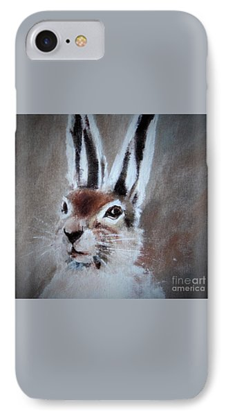 March Hare In Colour IPhone Case